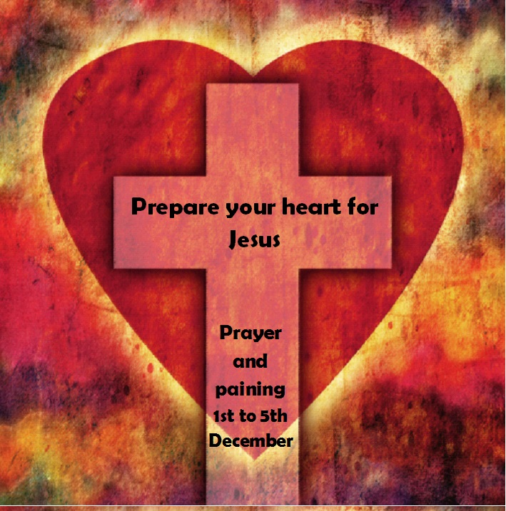 Prepare your heart for Jesus painting week